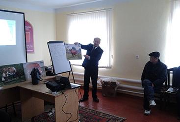 Ассоциация провела ряд тренингов для ветеринаров и фермеров