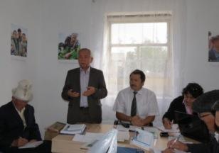 Открытие офиса в Кочкорском районе