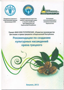 Рекомендации по созданию культурных насаждений грецкого ореха